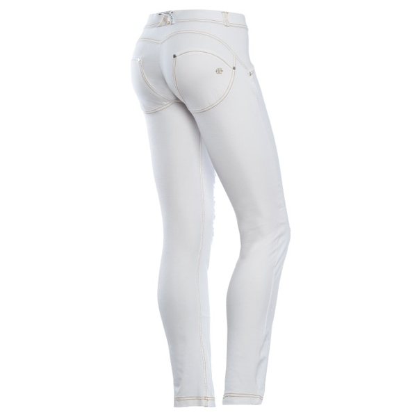 Freddy Jeans Bílé Potrhané Snížený Pas - L, L - 1
