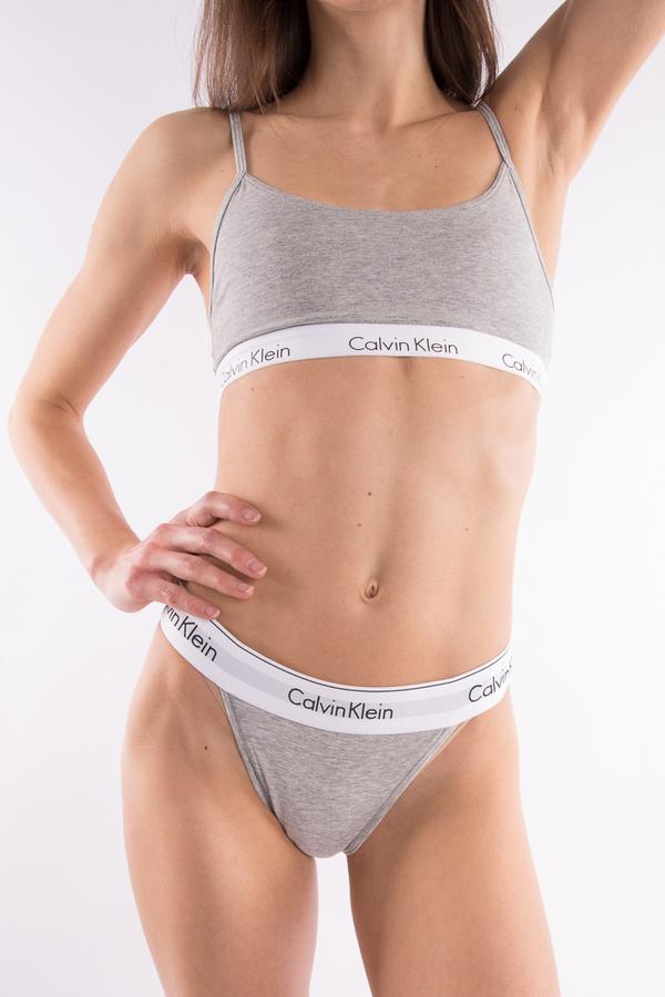 Calvin Klein Podprsenka Grey - S, S - 1