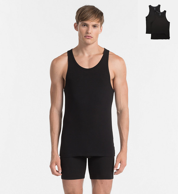 Calvin Klein 2Pack Tílka Pánská Černá - S, S - 1