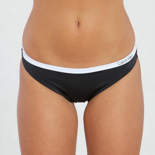 Calvin Klein Plavky Bandeau Černé Spodní Díl - XS, XS - 1