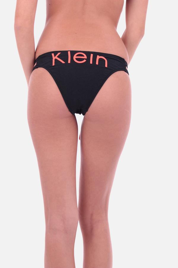 Calvin Klein Cheeky Bikini Plavky Black Spodní Díl - XS, XS - 1