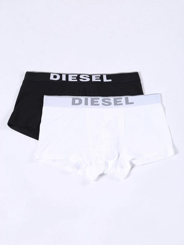 Diesel 2Pack Boxerky Černé & Bílé - XXL, XXL - 1