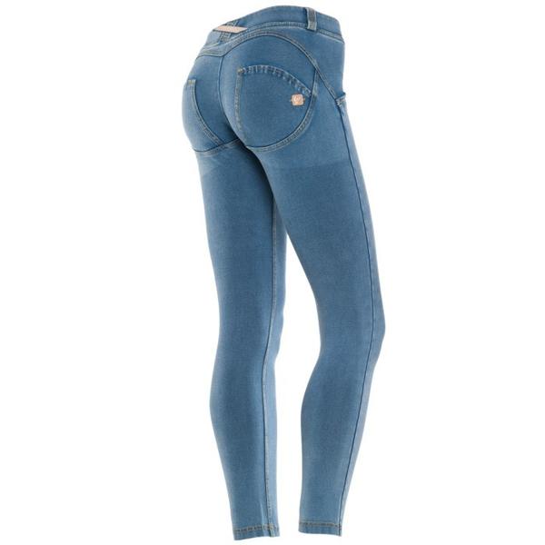 Freddy Jeans 7/8 Světle Modré SS18 Snížený Pas - S, S - 1