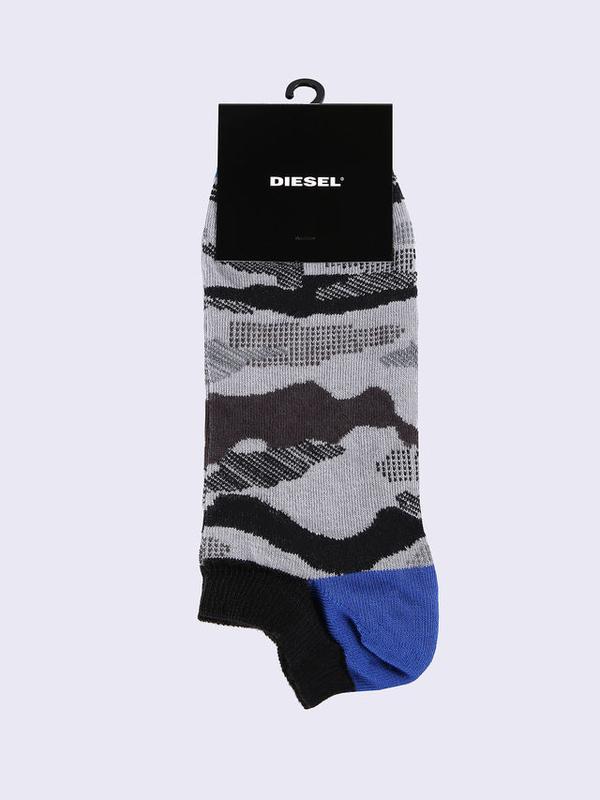 Diesel Ponožky Maskáčové Šedé - M, M - 1