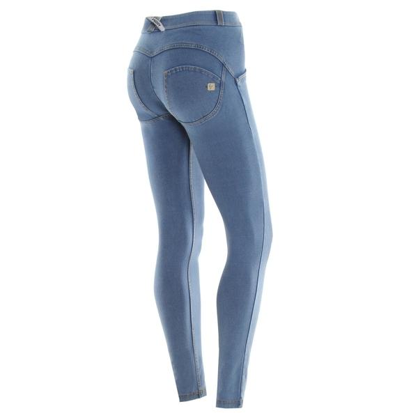 Freddy Jeans Světle Modré Normální Pas FW19 - XXS, XXS - 1