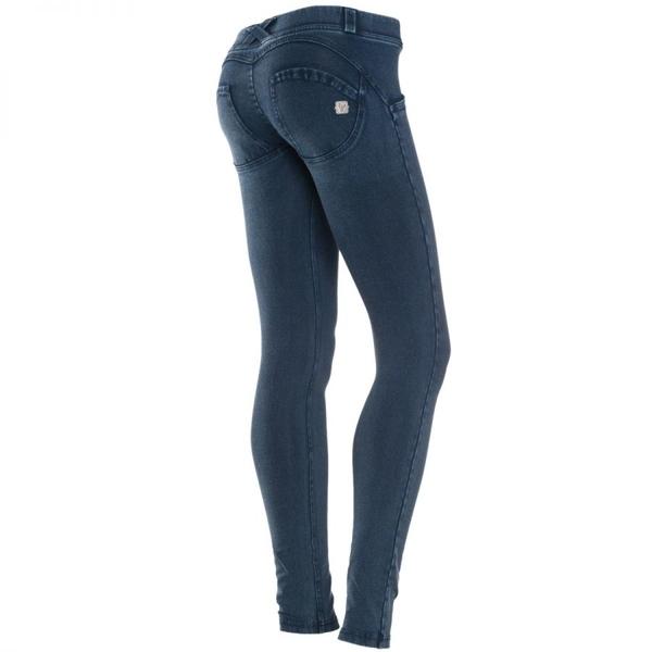 Freddy Jeans Tmavé S Modrými Švy Snížený Pas - XS, XS - 1
