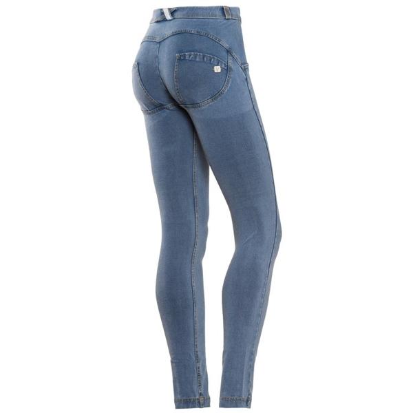 Freddy Jeans Světle Modré Normální Pas - M, M - 1