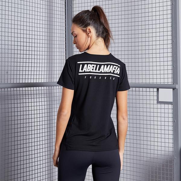 Labella T-shirt Black Fitness, S - 1