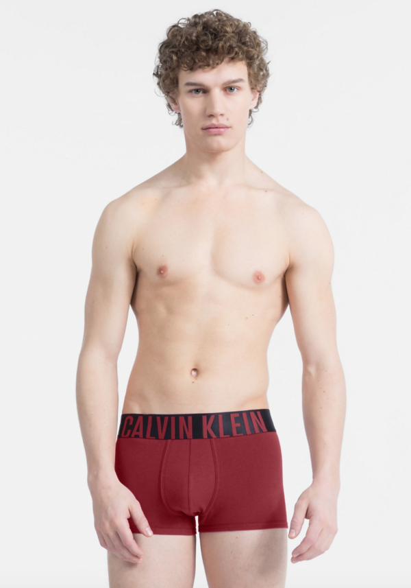 Calvin Klein Boxerky Intense Power Bordo - XL, XL - 1
