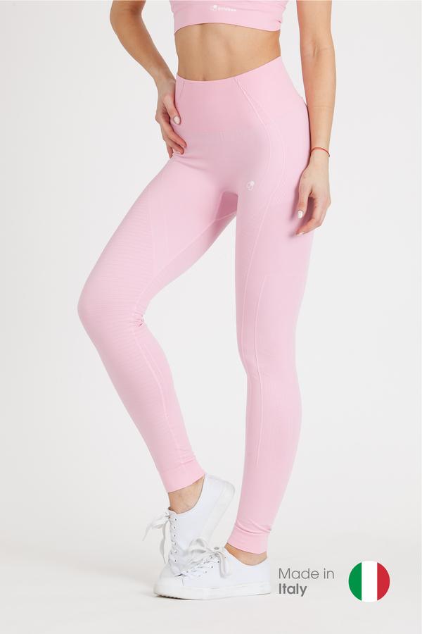 GoldBee Legíny BeSeamless Candy Pink - L, L - 1