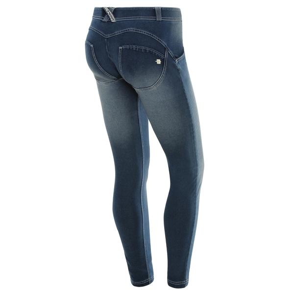 Freddy Jeans Světle Modré Vyšisované Normální Pas SS18 - S, S - 1