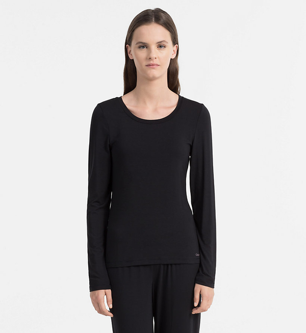Calvin Klein Triko Sculpted Black - M, M - 1