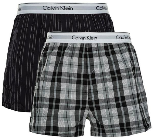 Calvin Klein 2Pack Trenky Vzorované - XL, XL