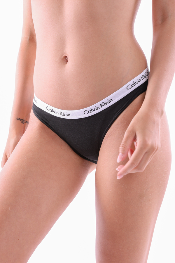 Calvin Klein Kalhotky Černé - XS, XS - 1