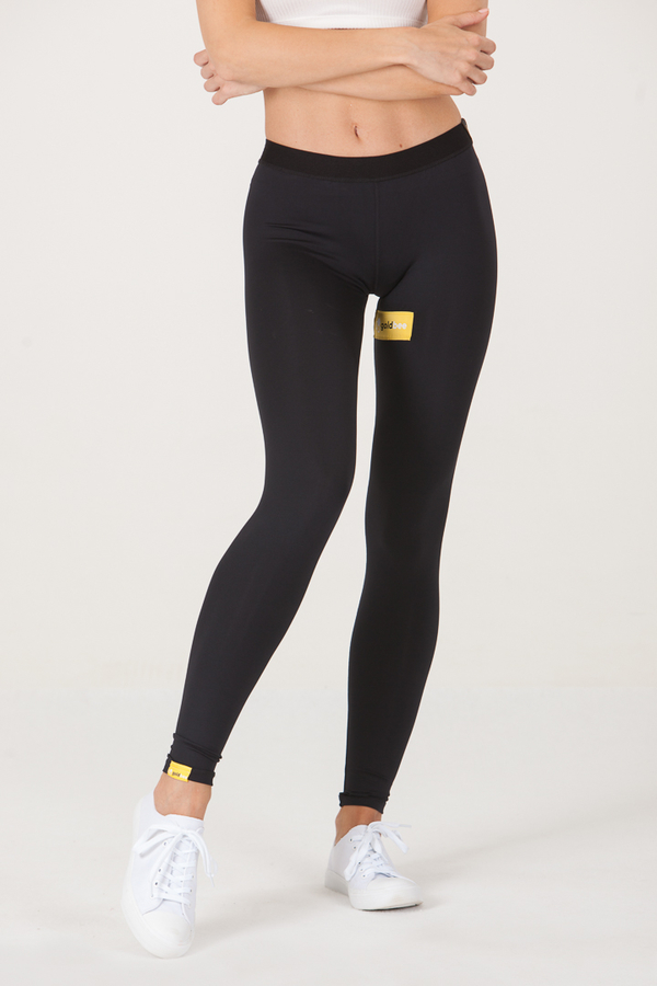 GoldBee Leggings BeSticker Inside Black - 1