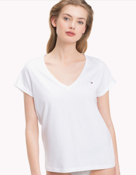 Tommy Hilfiger Women´s Top White - XS, XS - 1
