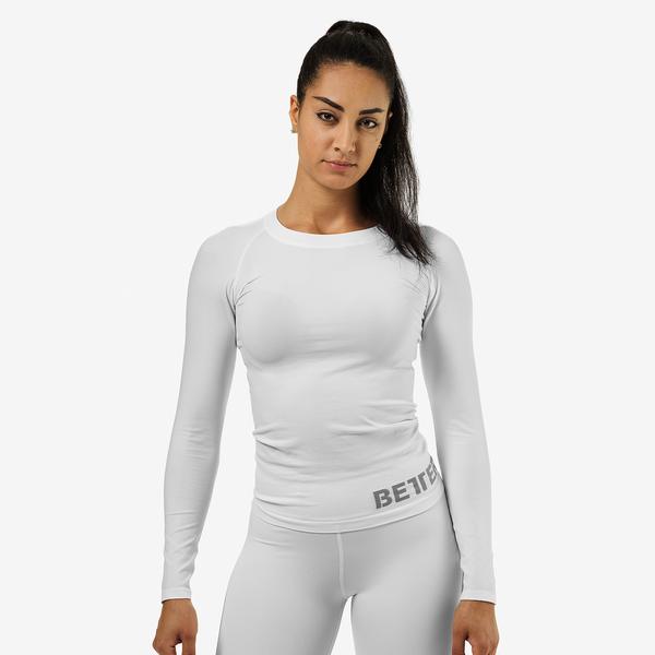 Better Bodies T-shirt Nolita Seamless Long Sleeve White - 1