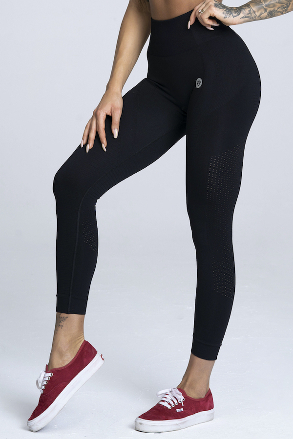 Gym Glamour Leggings Seamless Black - 1