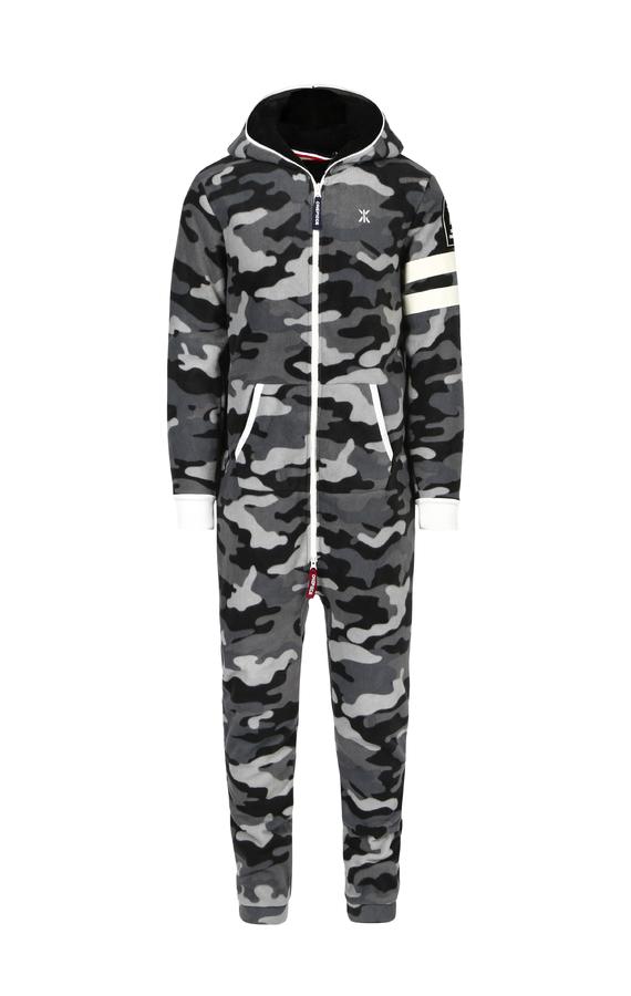 OnePiece Alps Camo Fleece Black - M, M - 1