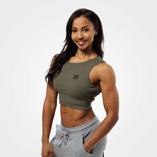 Better Bodies Crop-top Astoria Washed Green - S, S - 1