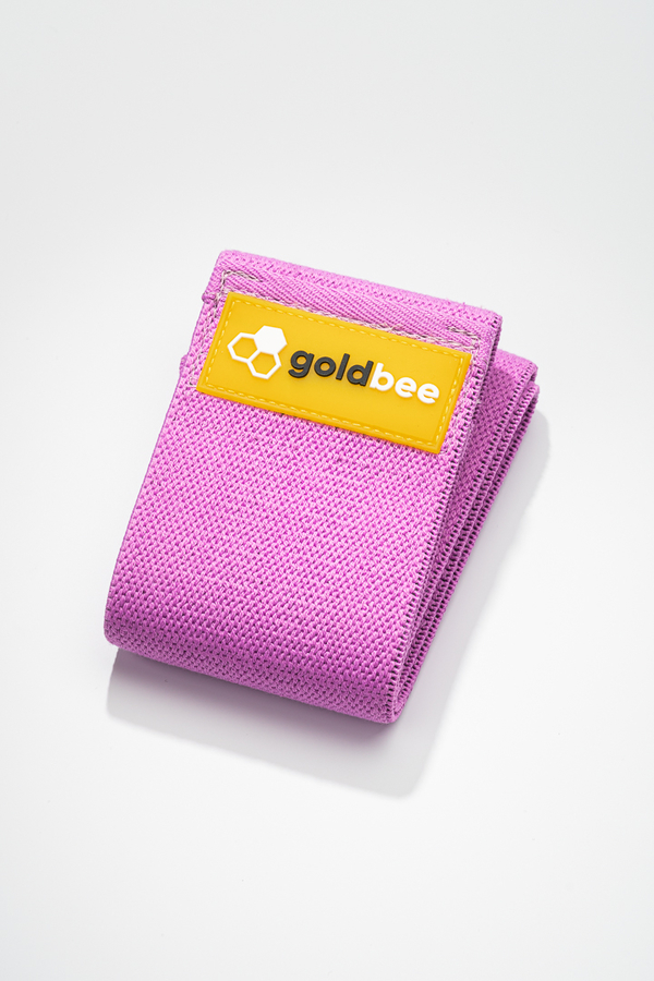 GoldBee Textile Resistant Rubber - Purple, L - 1