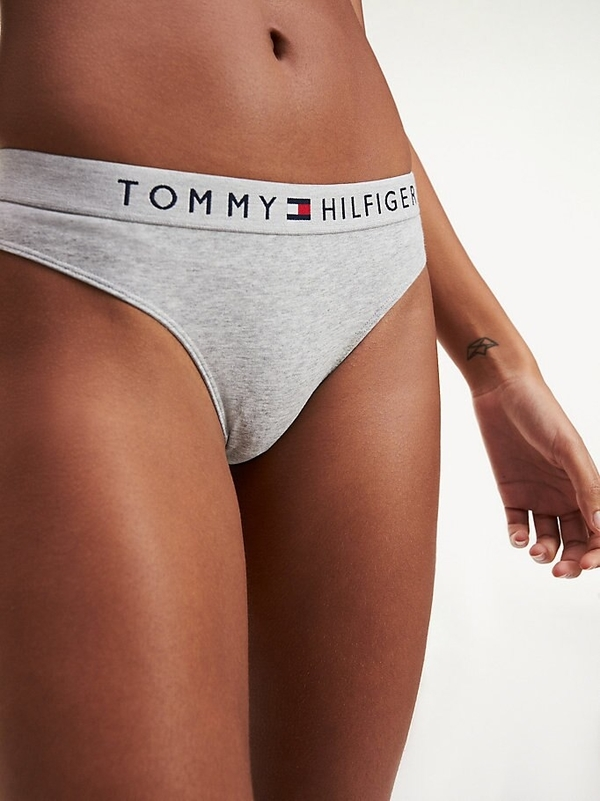 Tommy Hilfiger Tanga Tri-Colour Grey - M, M - 1
