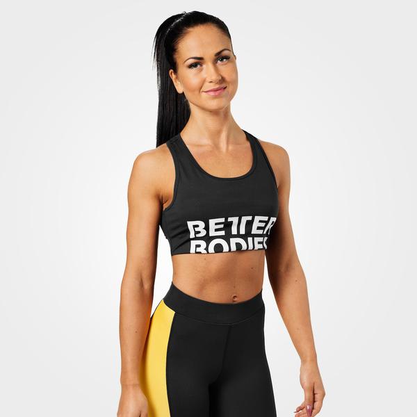 Better Bodies Podprsenka Bowery Sports Black - L, L - 1