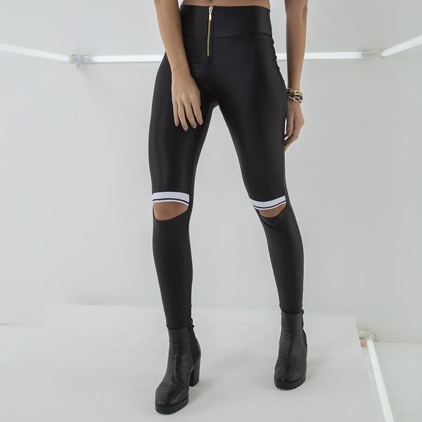 Labella Pants Leather Black - 1