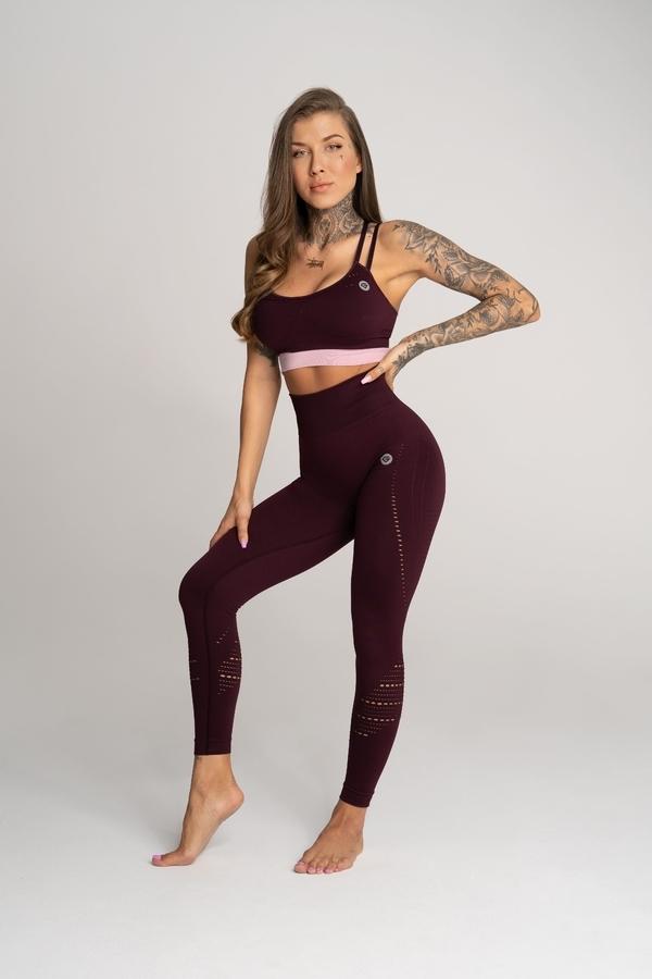 Gym Glamour Leggings Deynn Bordo - 1