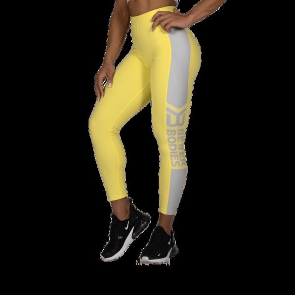 Better Bodies Legíny Chrystie High Lemon Yellow - S, S - 1