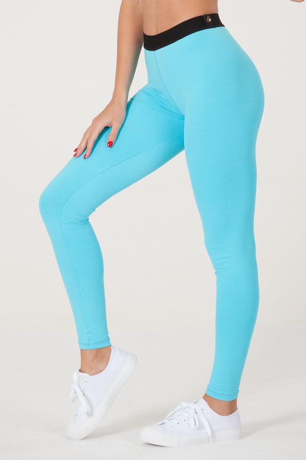 GoldBee Legíny BeOne Turquoise - L, L - 1