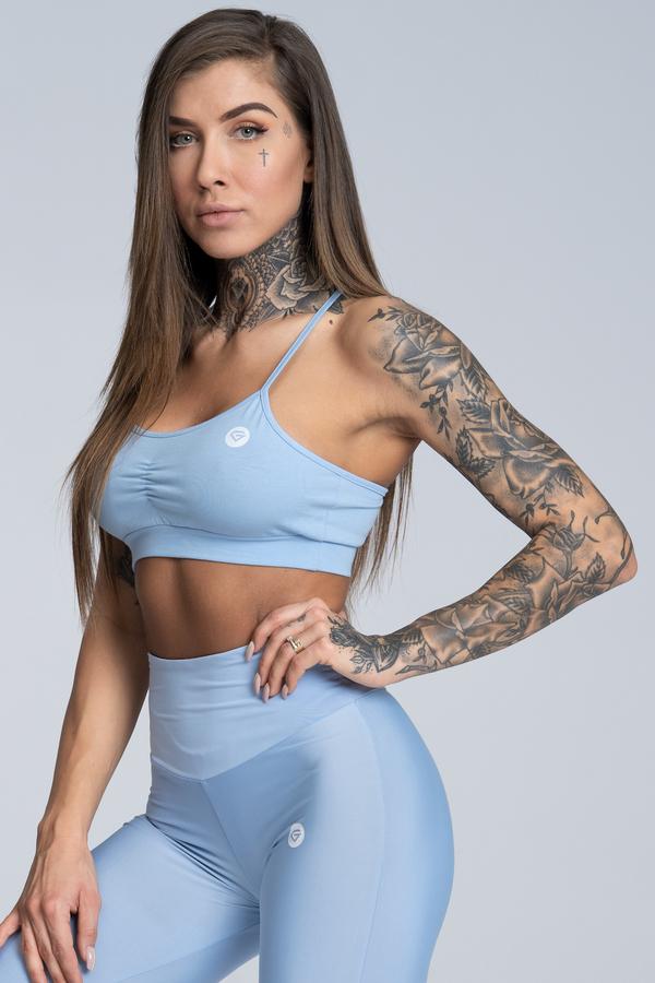 Gym Glamour Bra Simple Dream Blue - 1