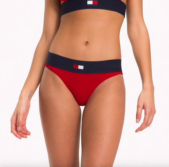 Tommy Hilfiger Kalhotky Flag Červené - L, L - 1