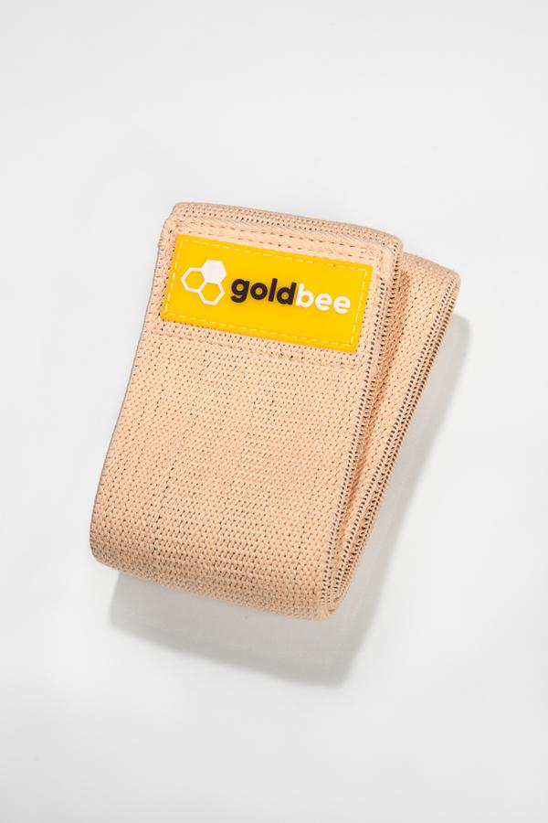 GoldBee Textilní Odporová Guma Meruňková - M, M - 1