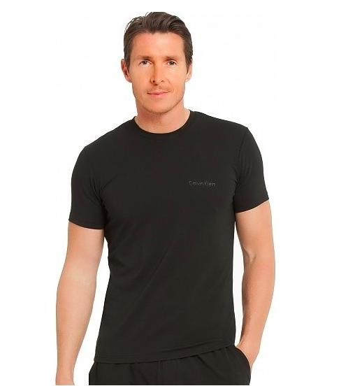 Calvin Klein Tričko Pánské Black