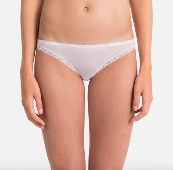 Calvin Klein Kalhotky Bottoms Up Bílé - L, L - 1
