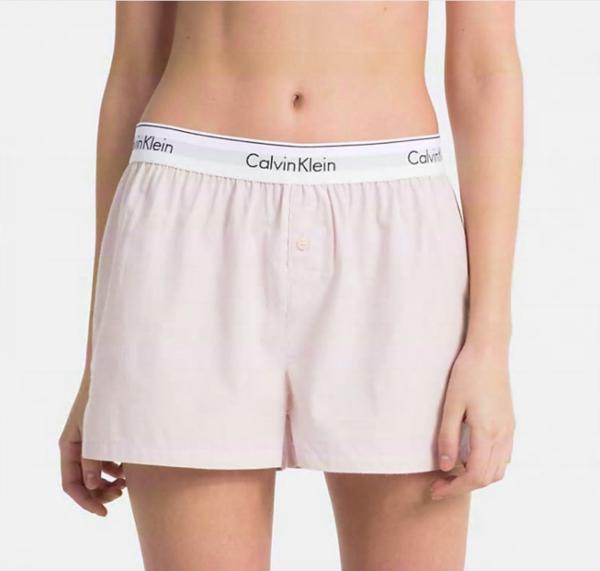 Calvin Klein PJ Shorts Pudrové - M, M - 1