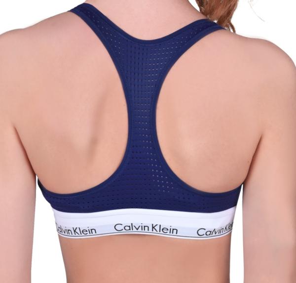 Calvin Klein Podprsenka Unlined Shilo Blue - M, M - 2