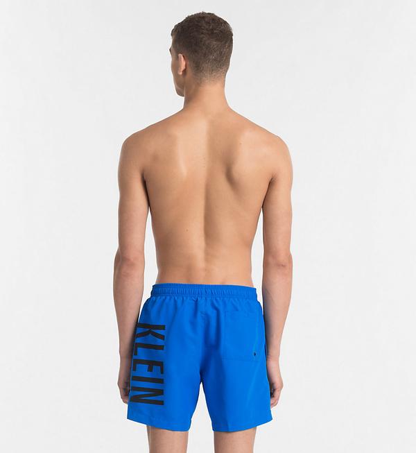 Calvin Klein Plavkové Šortky Intense Power Blue - L, L - 2