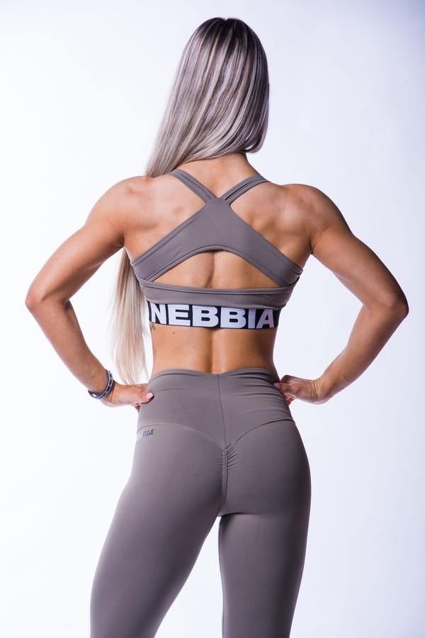 Nebbia 620 Open Back Bra Mocha - 2