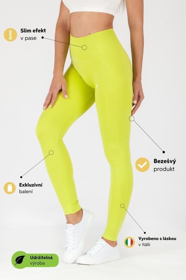 GoldBee Leggings BeSeamless Lime - 2