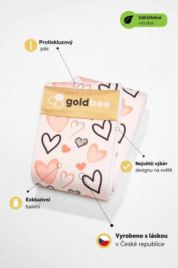 GoldBee BeBooty - Heart, M - 2