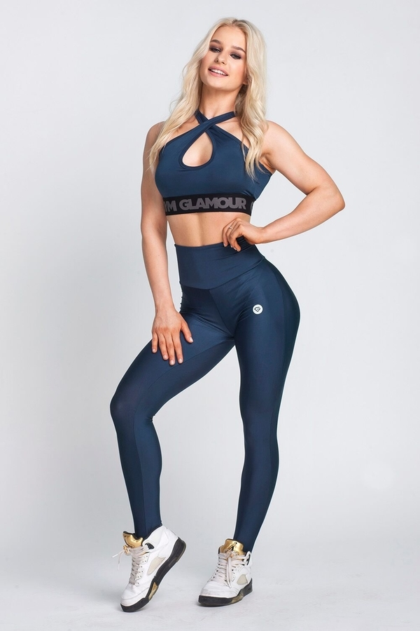 Gym Glamour Leggings High Waist Midnight Navy - 2