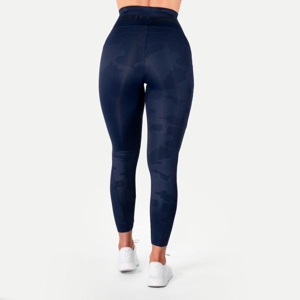 Better Bodies Legíny High Waist Dark Navy - S, S - 2