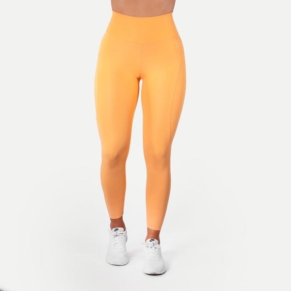 Better Bodies Legíny High Waist Light Orange - S, S - 2