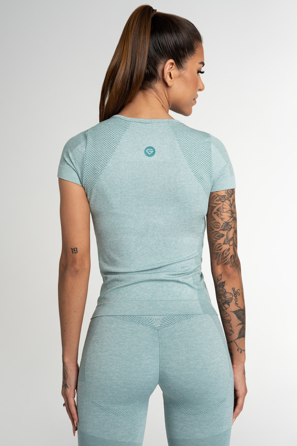 Gym Glamour T-Shirt Seamless Fusion Green, S - 2