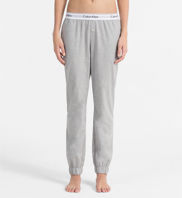 Calvin Klein Sweatpants Šedé - 2
