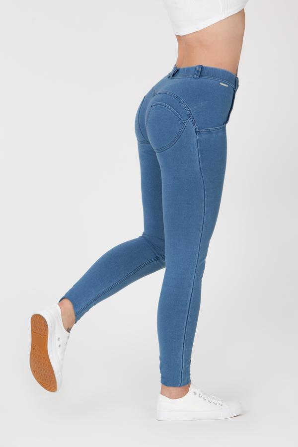 Boost Jeans Mid Waist P Light Blue - S, S - 2