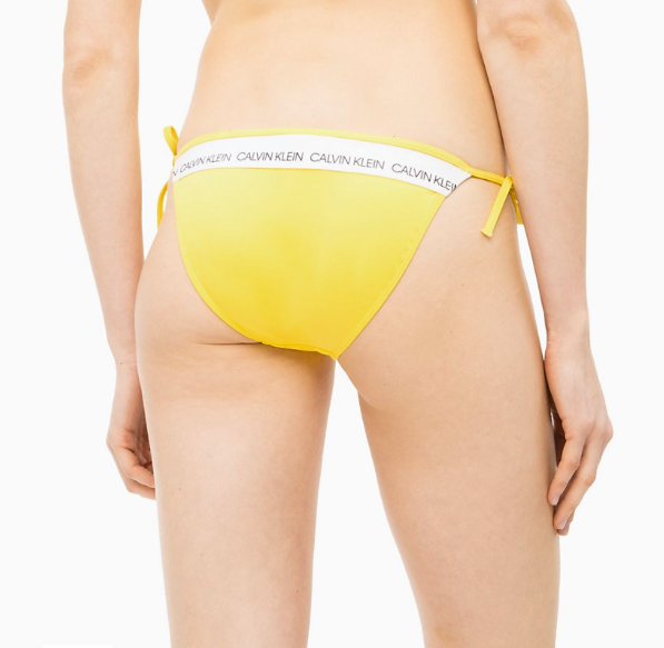 Calvin Klein Plavky CK Logo Yellow Spodní Díl - L, L - 2