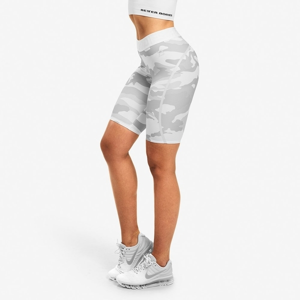 Better Bodies Shorts Chelsea White Camo - 2